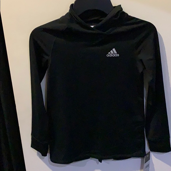 Adidas hoodie for girls new NWT